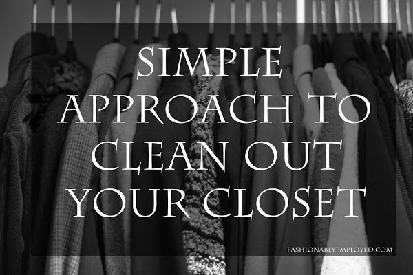 Simple Approach to My Wardrobe Edit