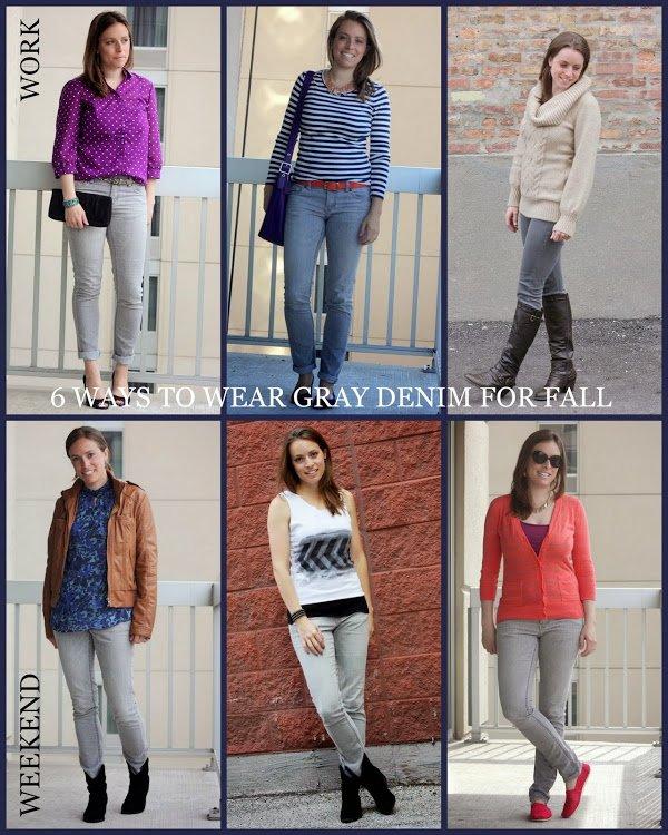 Remix It Up ~ Gray Jeans