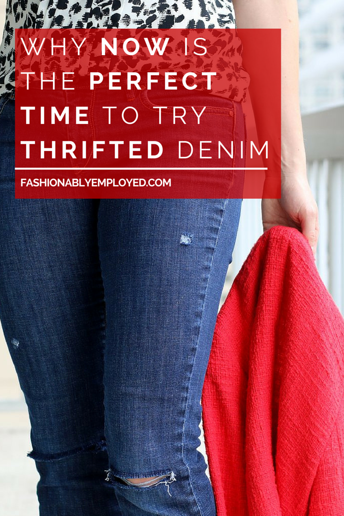 Why Now is the Perfect Time to Try Thrifted Denim