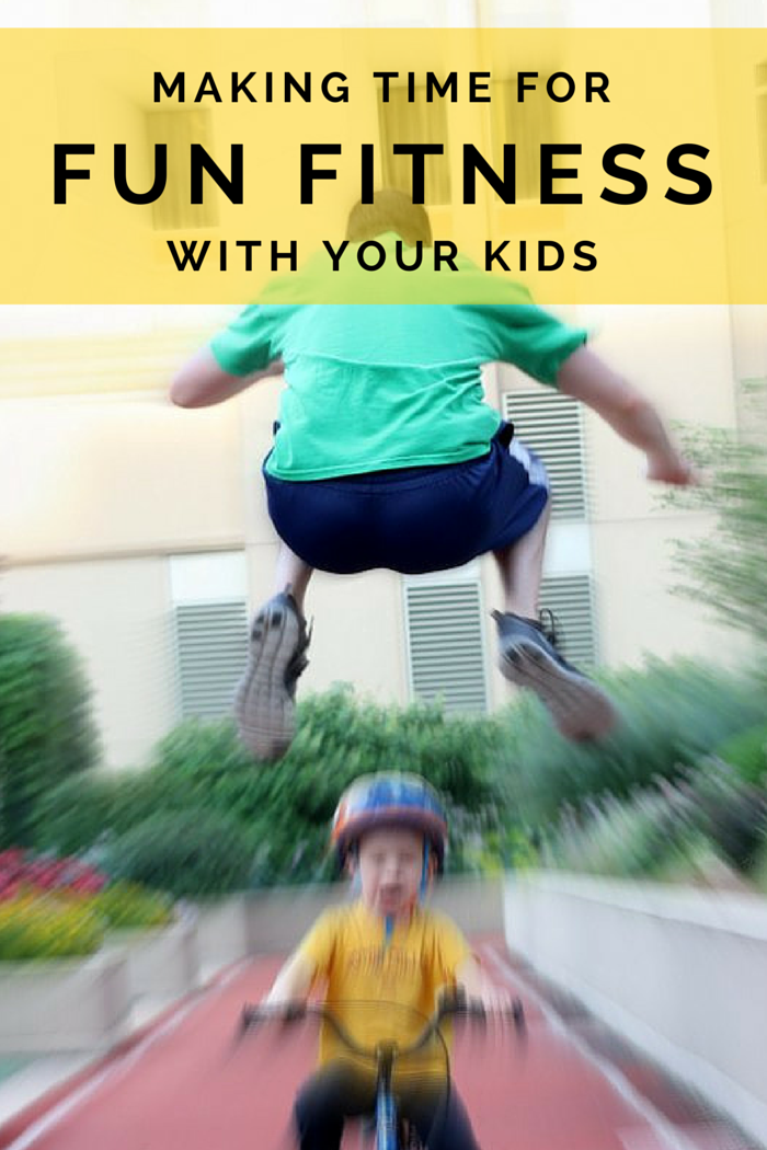An Easy Workout with Kids