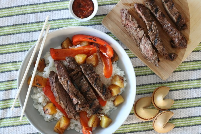 Need an easy idea for an asian-inspired family dinner? Try this for a perfectly grilled, indoor meal that's perfect anytime of year! | FashionablyEmployed.com | Practical and sustainable life and style for modern professional women