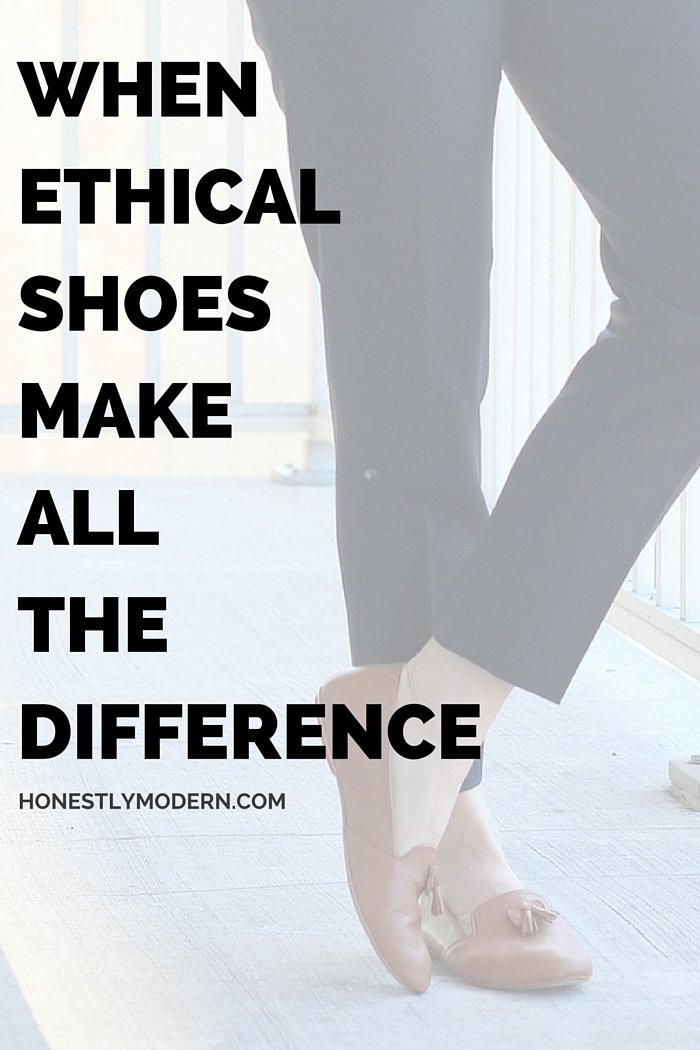 How we spend on fashion can make a powerful statement. Check out how you can save money, save time, and contribute to another women's education with an educated decision about your next pair of shoes.