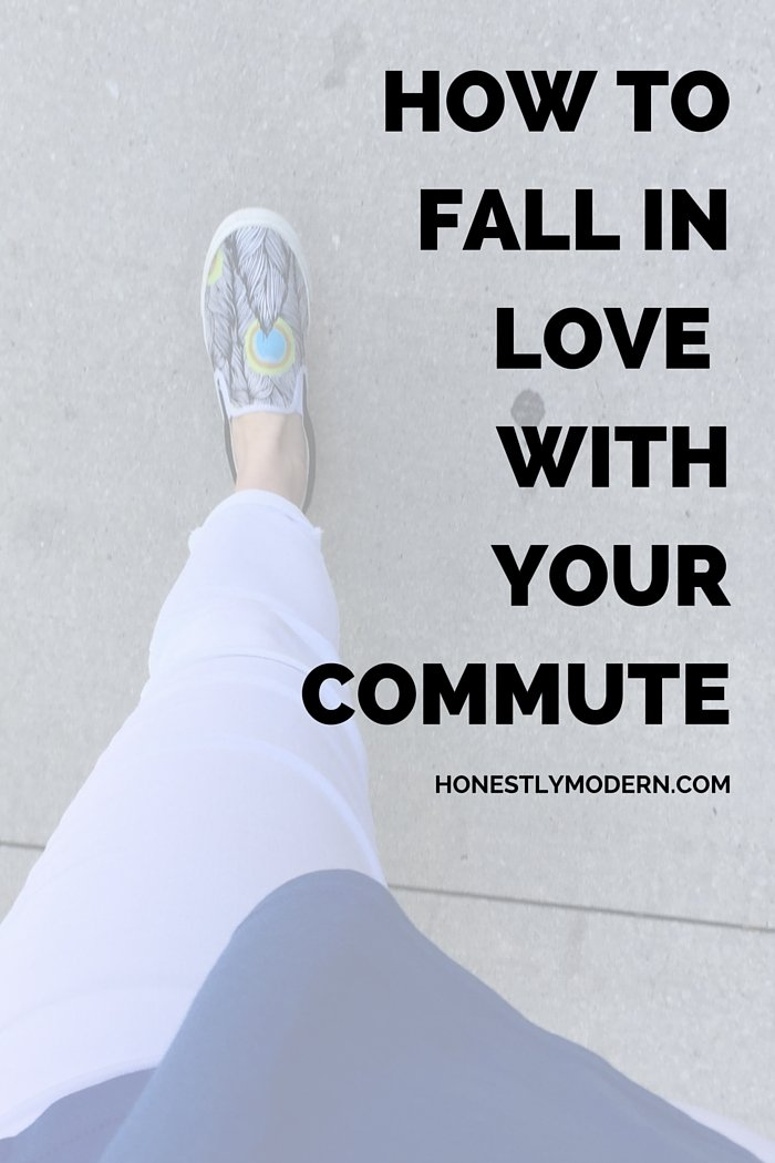 Think your commute has to be stressful and arduous? Think again! Check out these ideas to start loving your commute today!