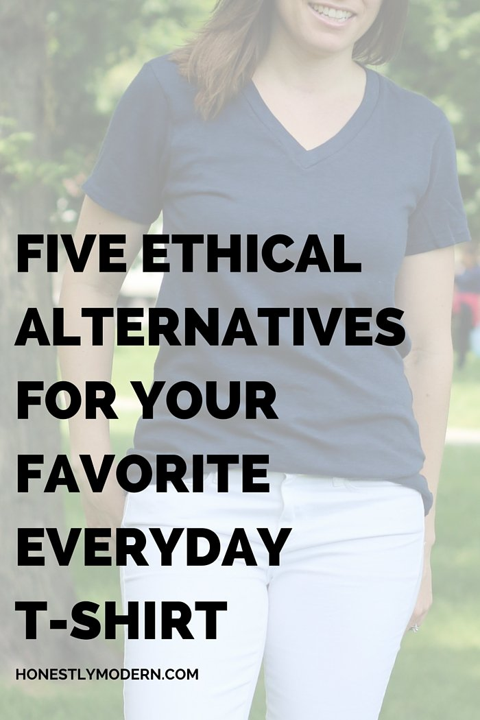 Killer casual style from ethical brands   Perfect, high-quality, socially responsible brands that will become your new favorite t-shirt staples. Check out these 5!