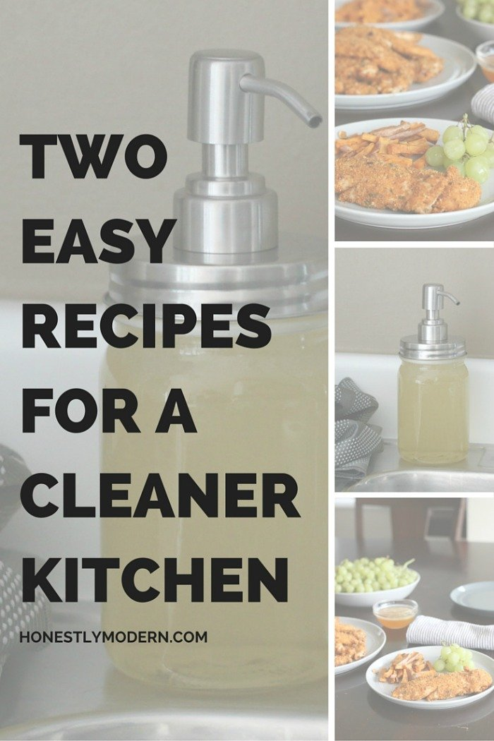 Two Easy Recipes For a Cleaner Kitchen new