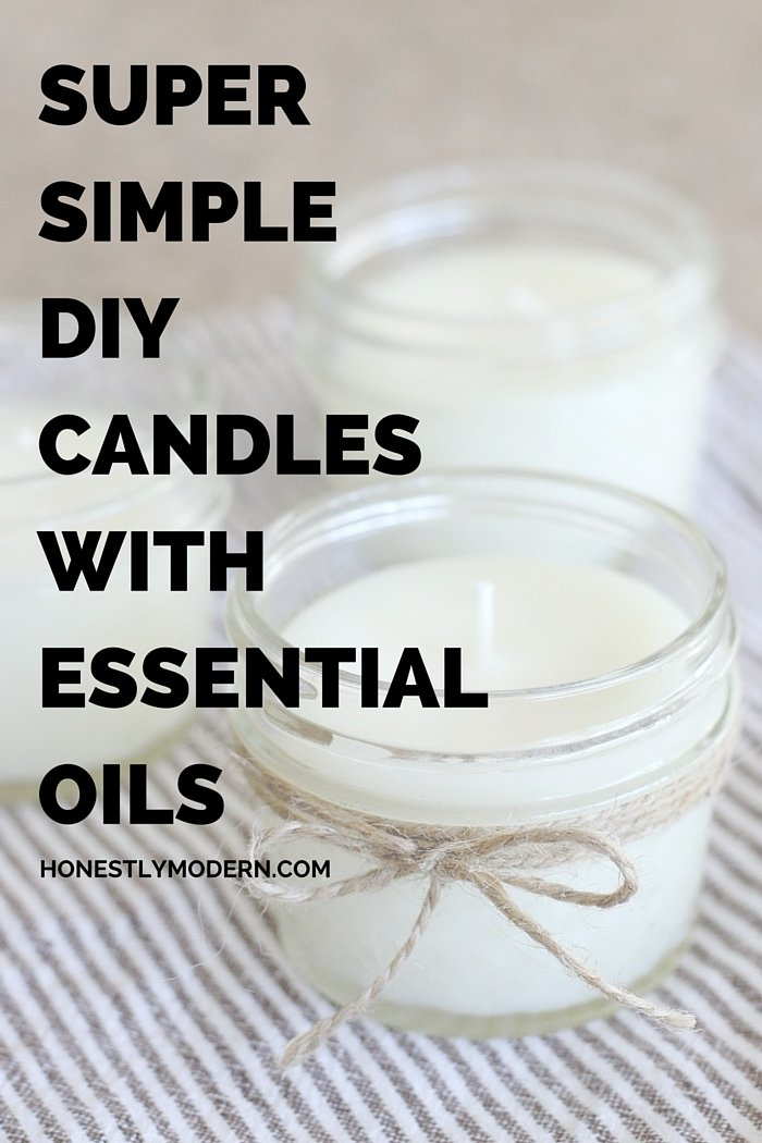 If you haven't made candles before, you'll never guess how easy it is! Click through for a full tutorial that even a beginner DIYer can master. It's seriously so easy!