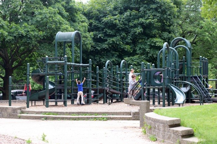 Lincoln Park Chicago playground
