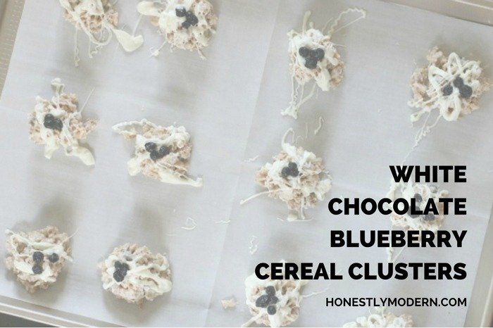 White Chocolate Bluerry Cereal Clusters social