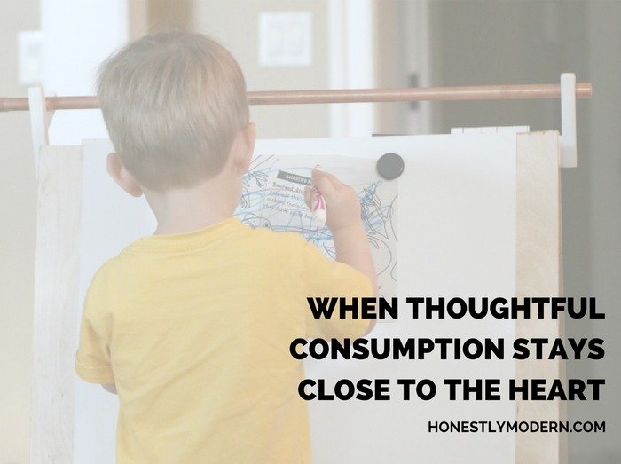 When Thoughtful Consumption Stays Close to the Heart