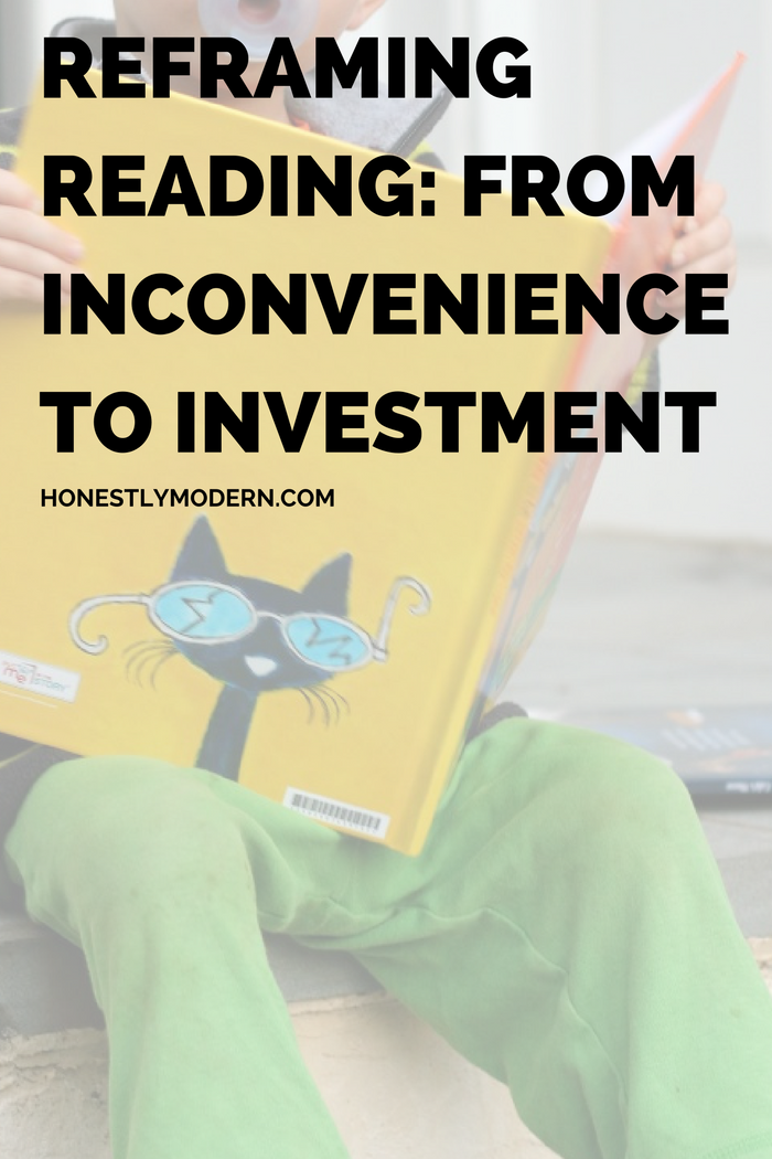 One Small Change We Can Make Right Now That Can Totally Change How We Feel About Reading to our Kids