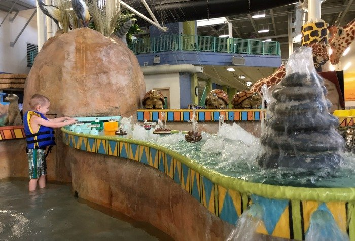 Check out a perfect easy and affordable mid-winter getaway at the Kalahari Resorts indoor waterpark.