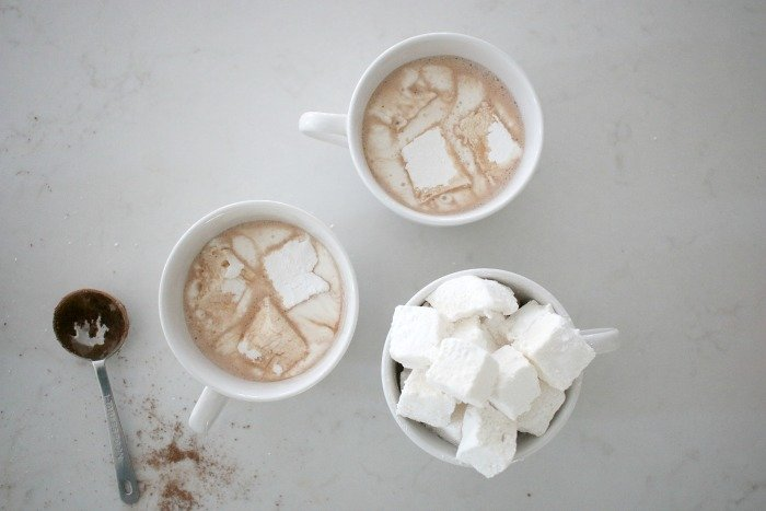 Perfectly Simple Homemade Marshmallows & Hot Chocolate