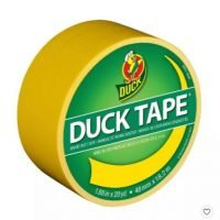 """Duck 1.88"""" x 20yd Duct Industrial Tape Yellow"""