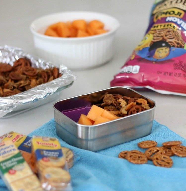 Simple Homemade Seasoned Snack Mix To Reduce Food Waste