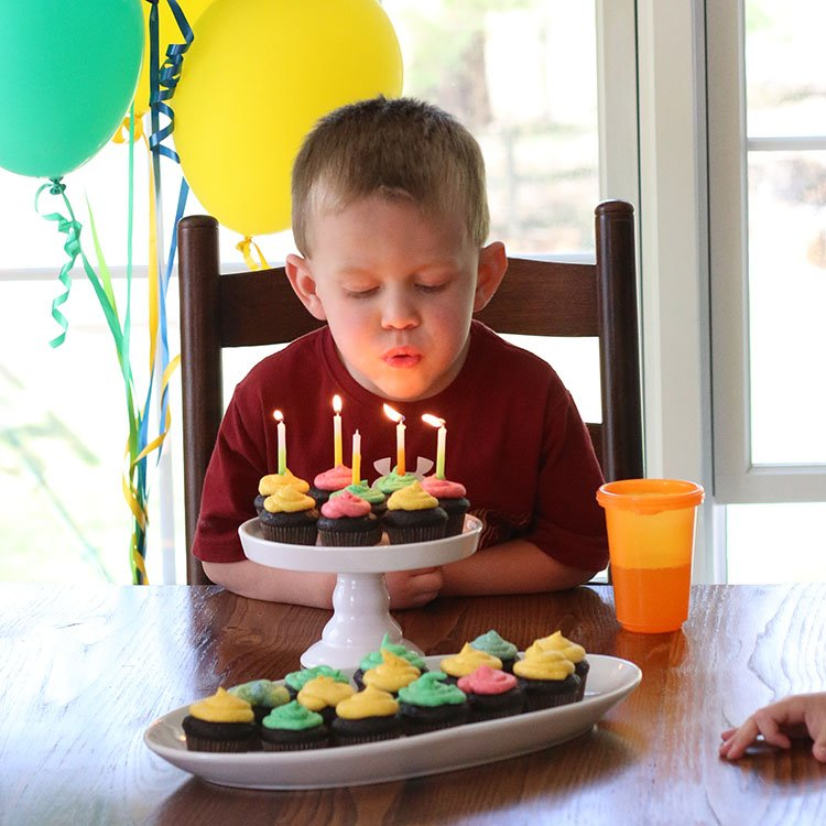 Our Sweet and Simple Minimalist Birthday Party
