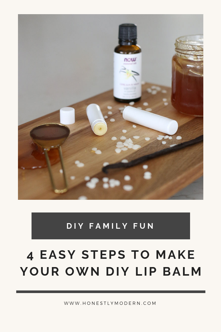 4 Easy Steps To Make Your Own DIY Lip Balm