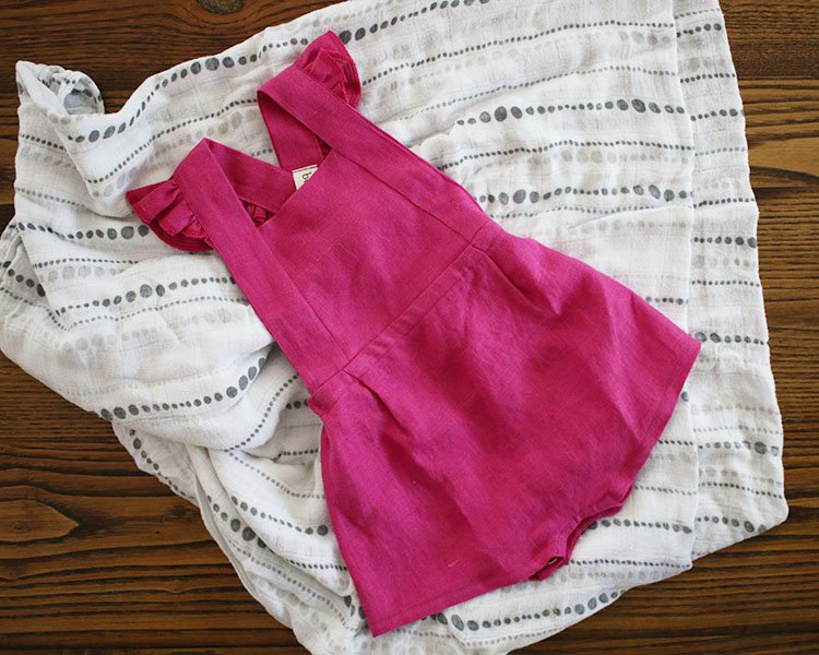 Gorgeous Sustainable Baby Clothes That Grow With Them