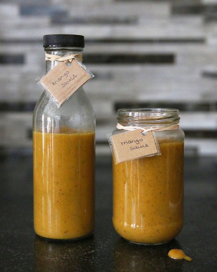 Zero Waste Food | Spicy Mango BBQ Sauce