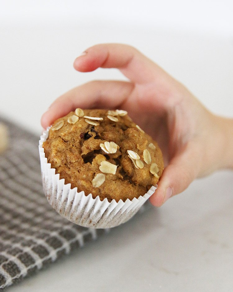 Perfect for fall, try out this low waste pumpkin cherry muffin recipe. We used fresh pumpkin from our garden but canned pumpkin will work just as well. Enjoy!   #HonestlyModern #zerowaste #zerowastefood #recipe