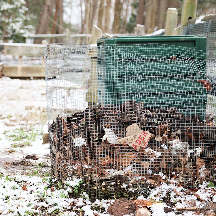 How To Compost At Home | Four Piles In The Backyard