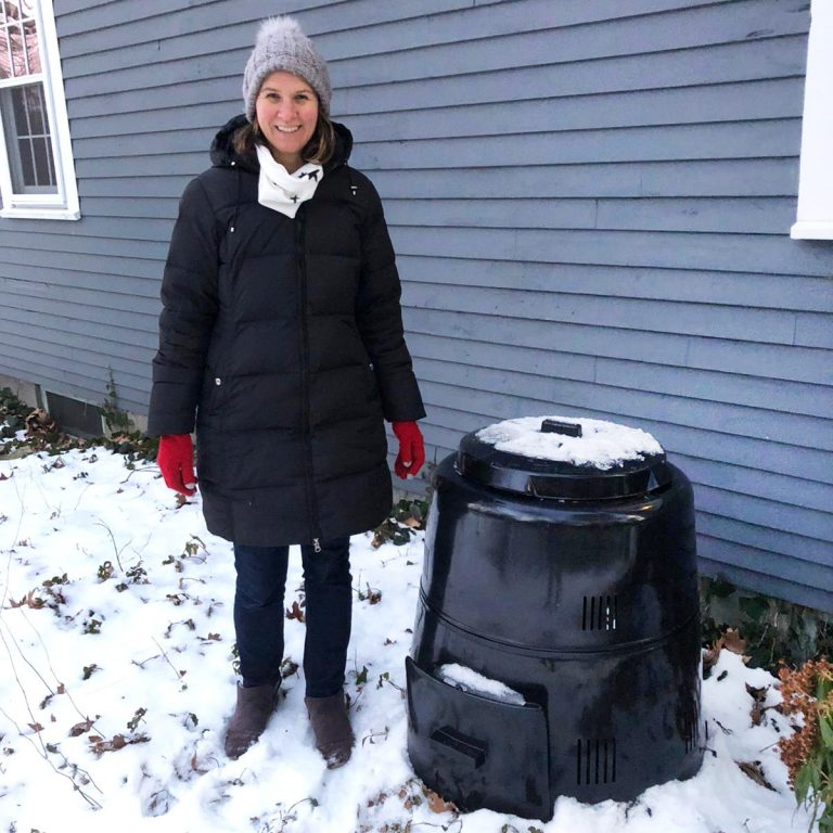 How To Compost At Home | A Compost Bin For The Neighbors