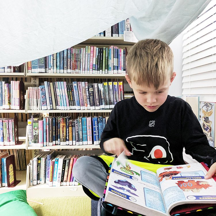 How We Use The Library | Fort Night Reading Party
