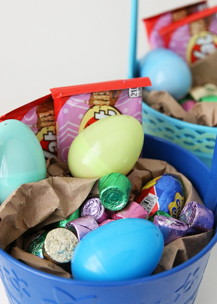 Simple Back-To-Basics Easter Baskets
