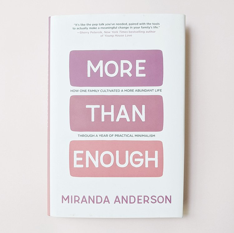 More Than Enough Book Review and Reflections