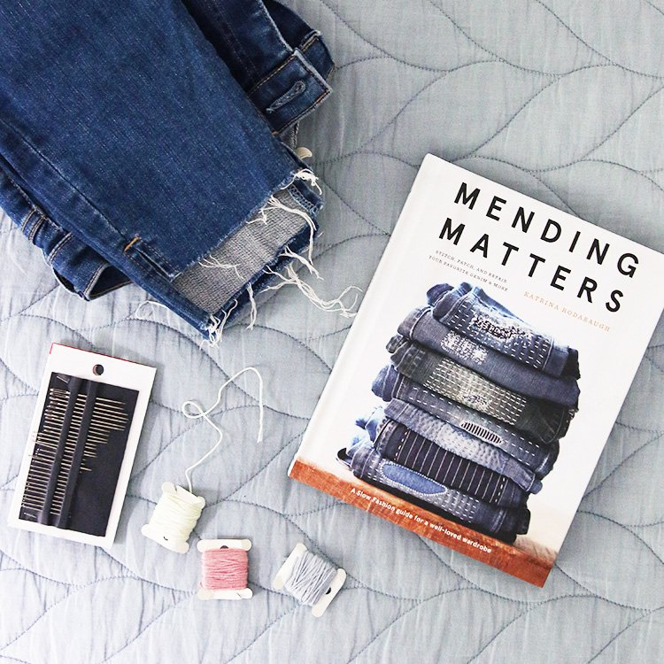 5 Mending and Maker Style Projects To Try At Home