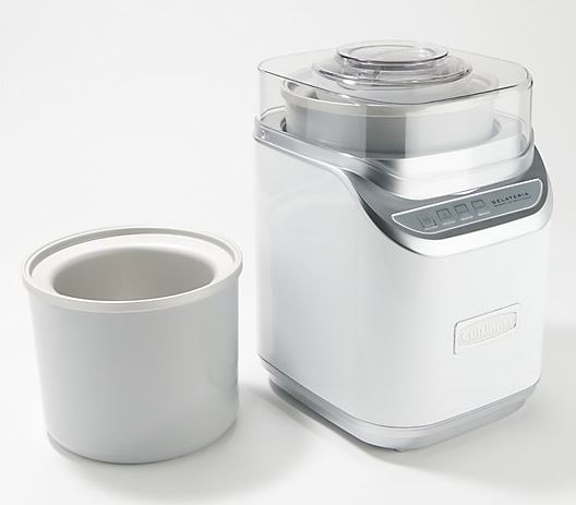 Cuisinart 2-qt Ice Cream Maker with Extra Freezer Bowl