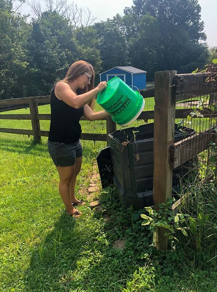 How To Compost At Home | Baby Food Scraps Start A Compost Bin