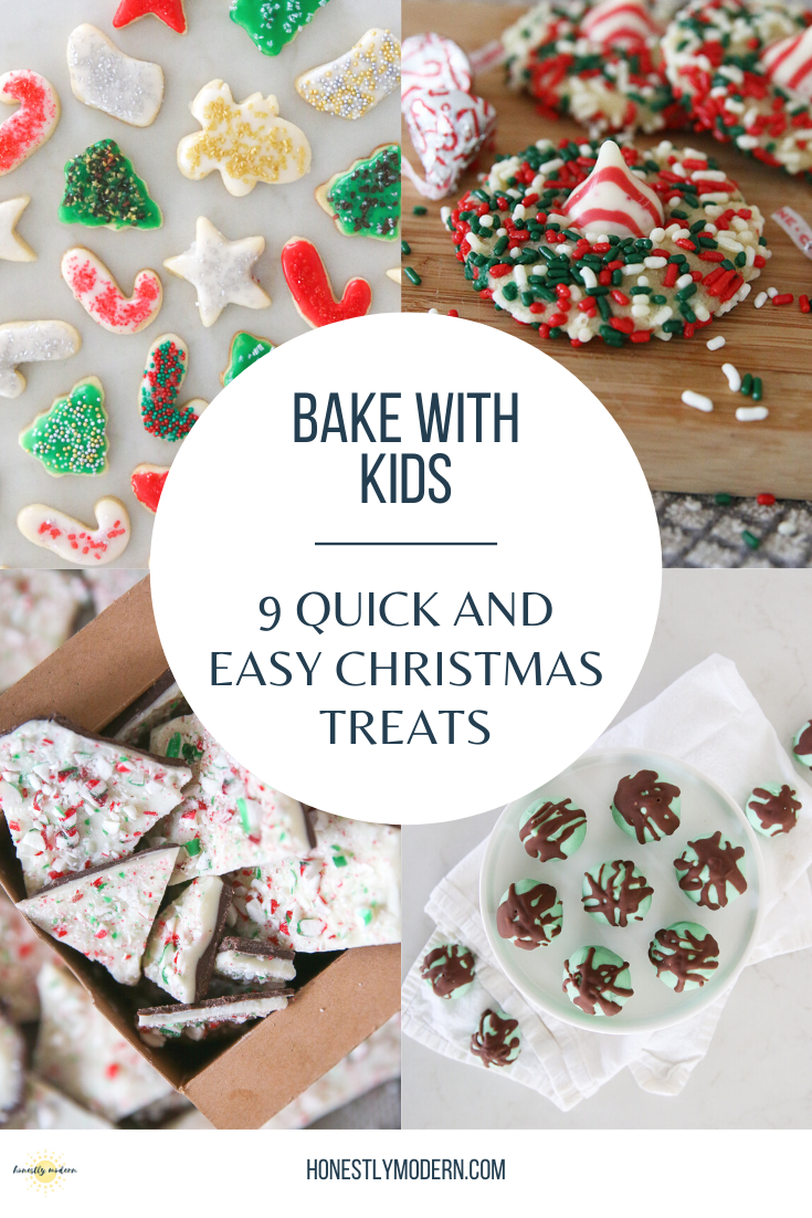 9 Quick and Easy Christmas Treats To Make With Kids