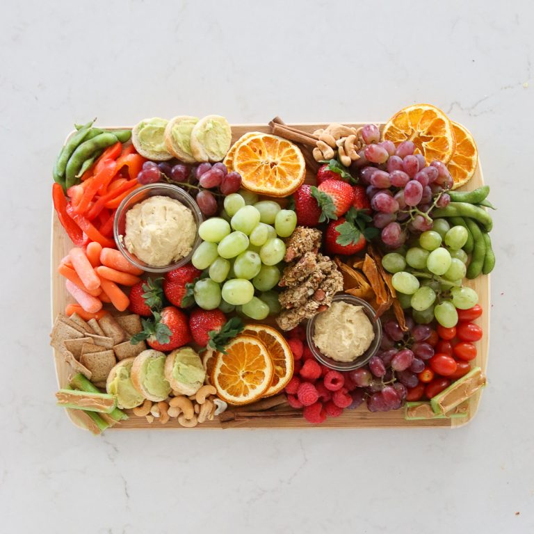 How To Make A Plant-Based Christmas Charcuterie Board