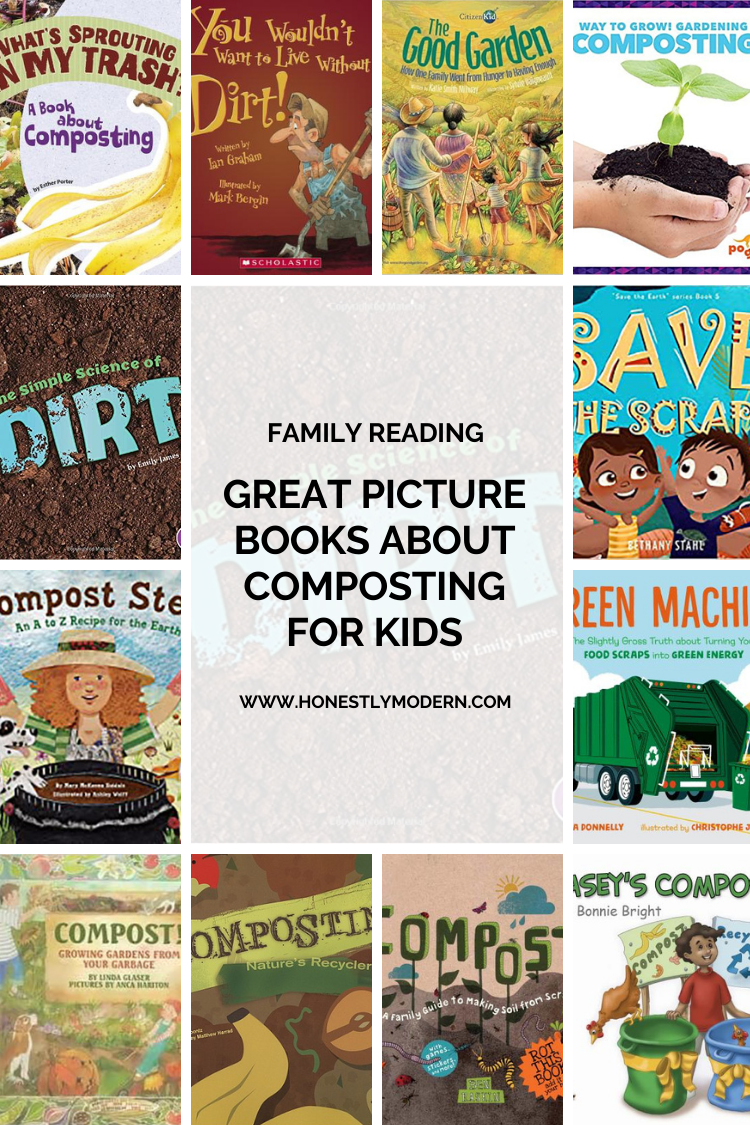 13 Picture Books About Composting & Soil Health