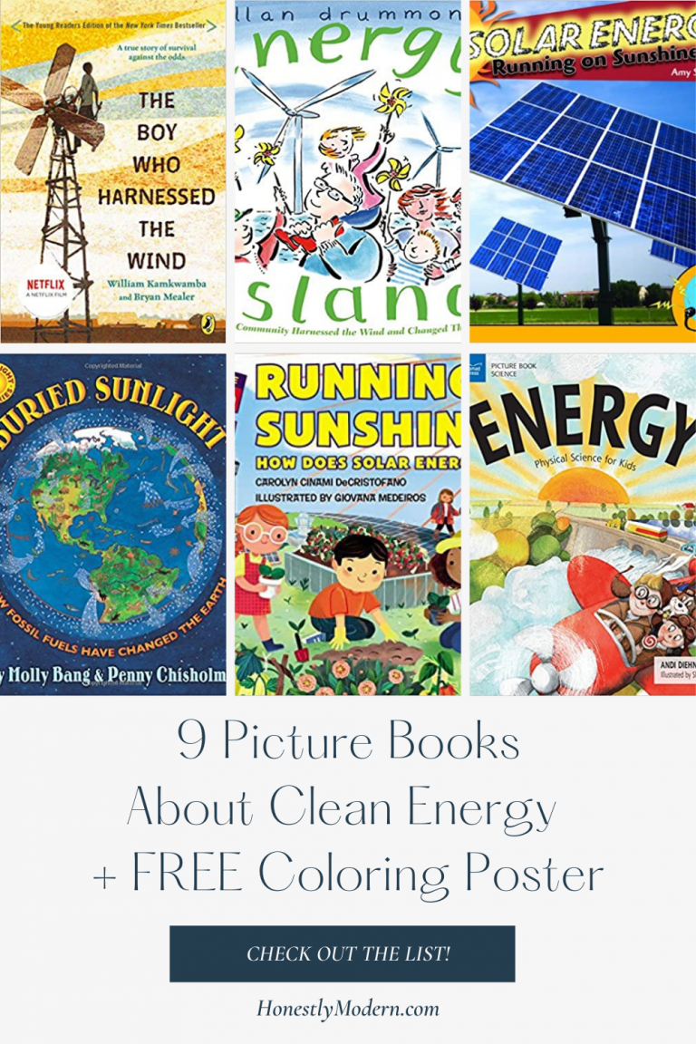 Affordable & Clean Energy | Picture Book List For United Nations Sustainable Development Goal #7