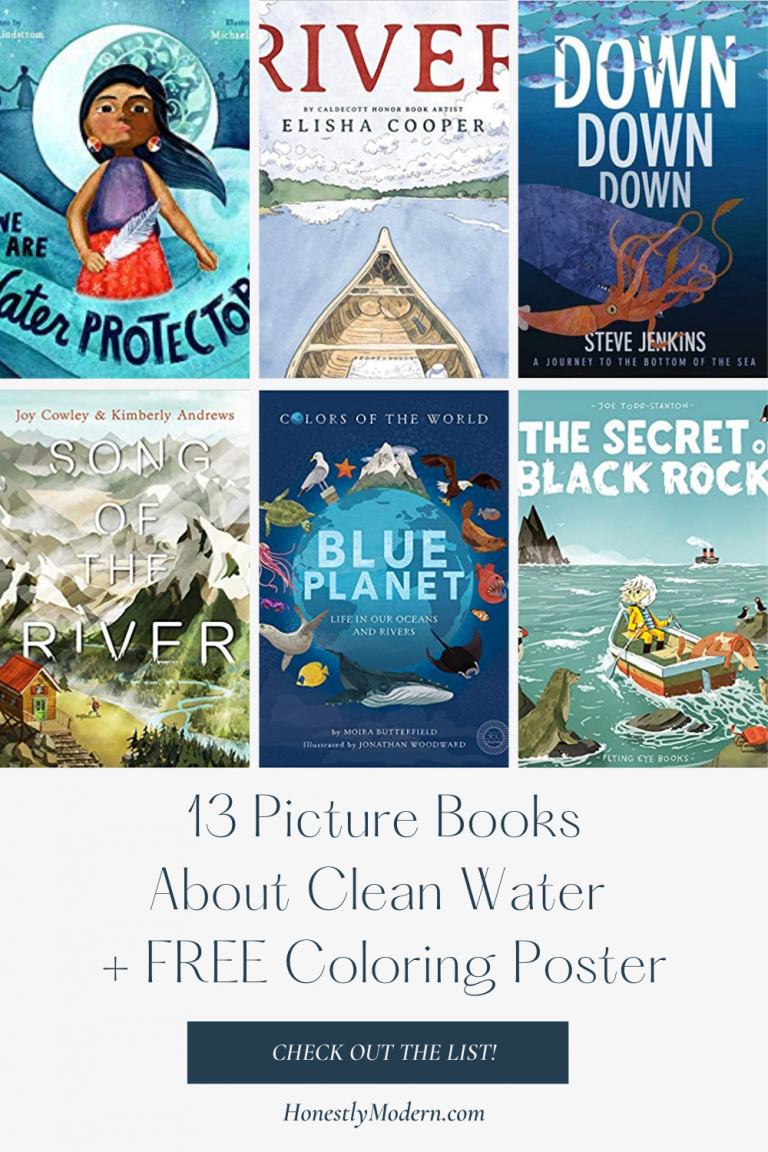 Clean Water & Sanitation | Picture Book List For United Nations Sustainable Development Goal #6