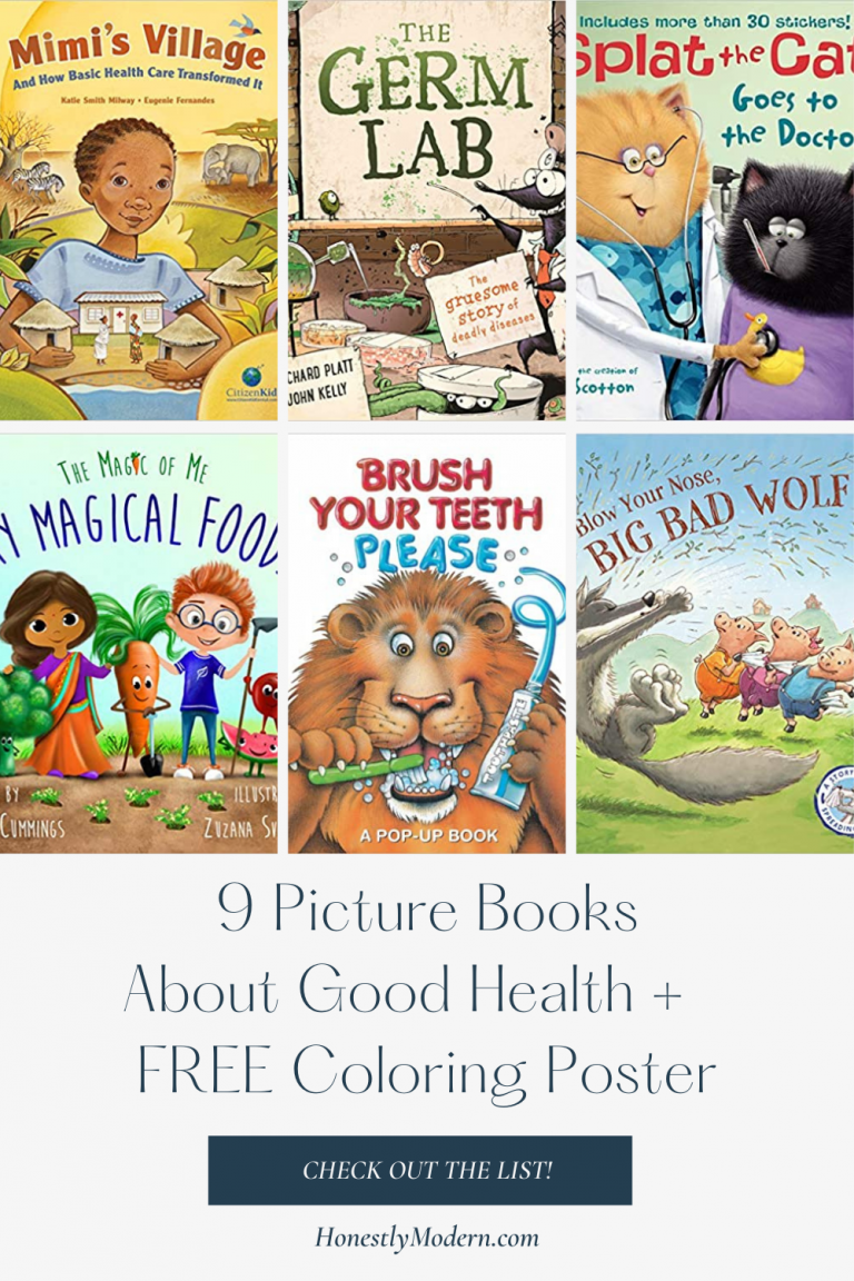 Good Health & Well-Being | Picture Book List For United Nations Sustainable Development Goal #3