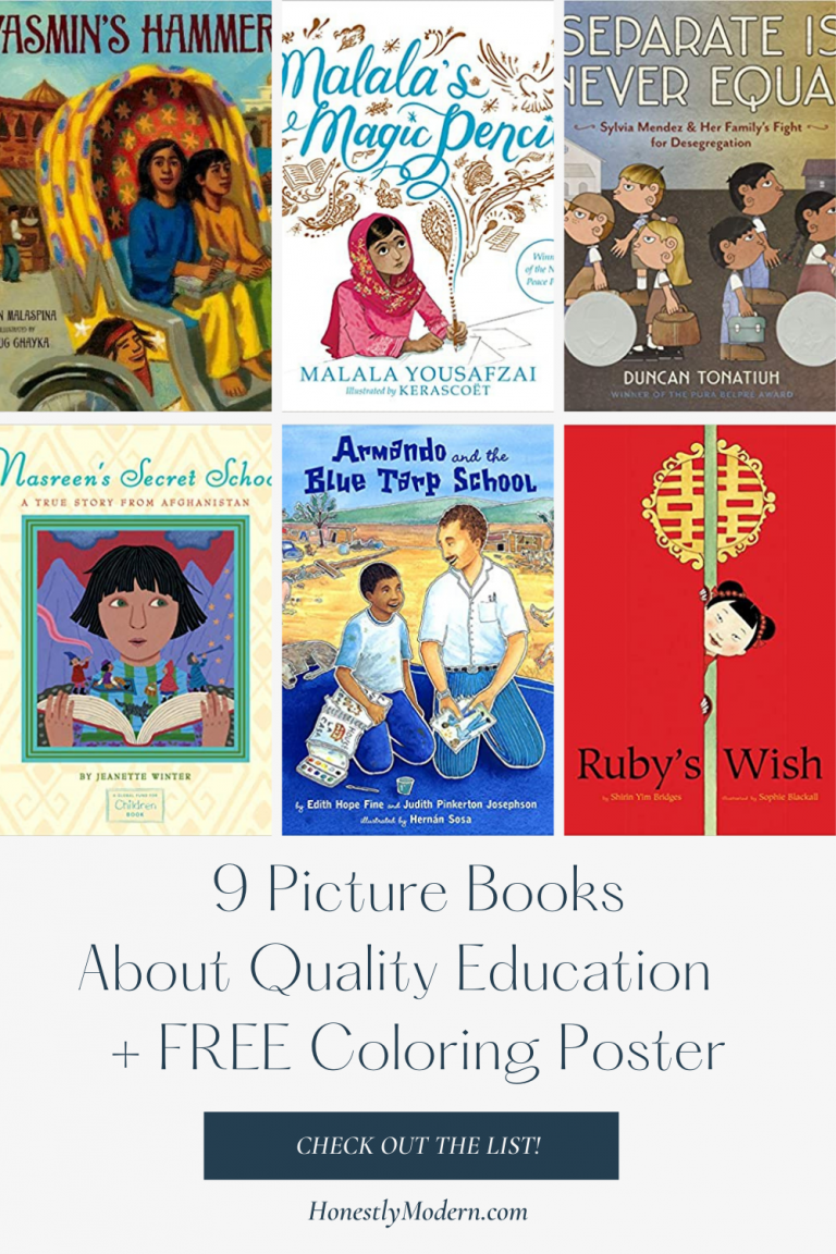 Quality Education   Picture Book List For United Nations Sustainable Development Goal #4