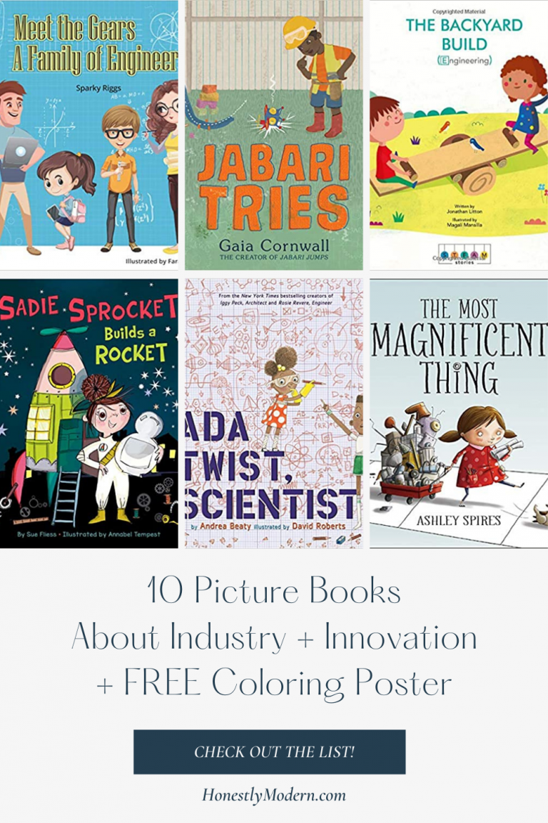 Industry, Innovation, and Infrastructure | Picture Book List For United Nations Sustainable Development Goal #9