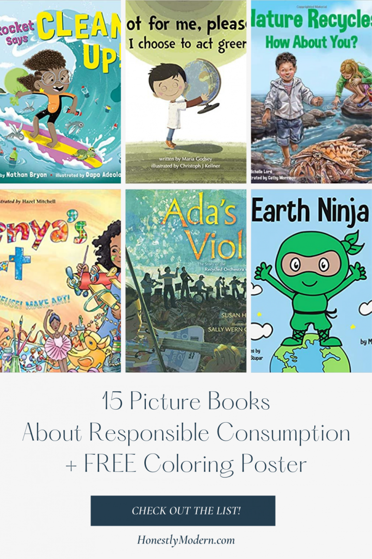 Responsible Production & Consumption | Picture Book List For United Nations Sustainable Development Goal #12