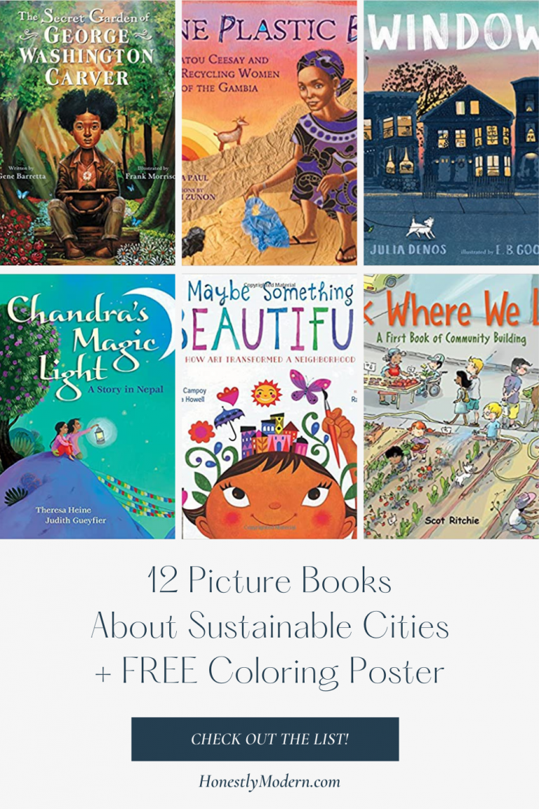 Sustainable Cities and Communities | Picture Book List For United Nations Sustainable Development Goal #11