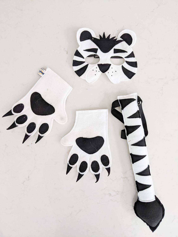 White Tiger Costume Accessories