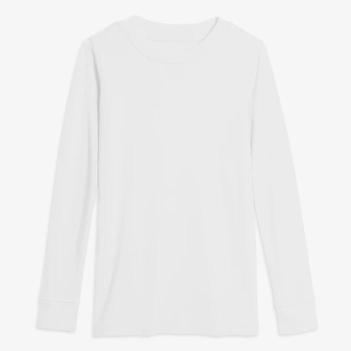Primary White Pajama Top